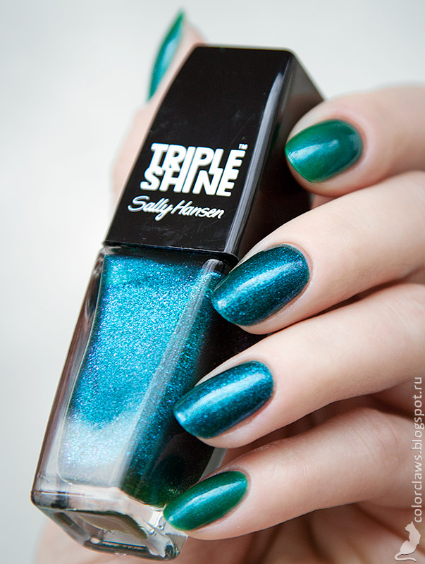 Amy's #37 + Sally Hansen Triple Shine Sparkling Water