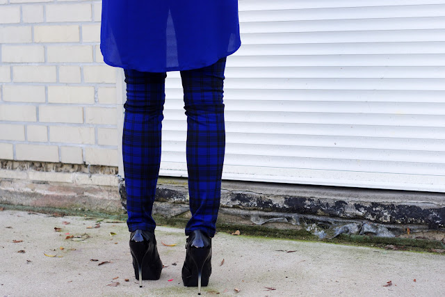 trend 2013, fall outfits, fall fashion trends 2013, latest fashion, blue, plaid, pants, mango,  german fashionblogger, modeblogger, beste deutsche blogger, hamburg, deichmann, eagle, necklace, adler kette, karierte Hose,