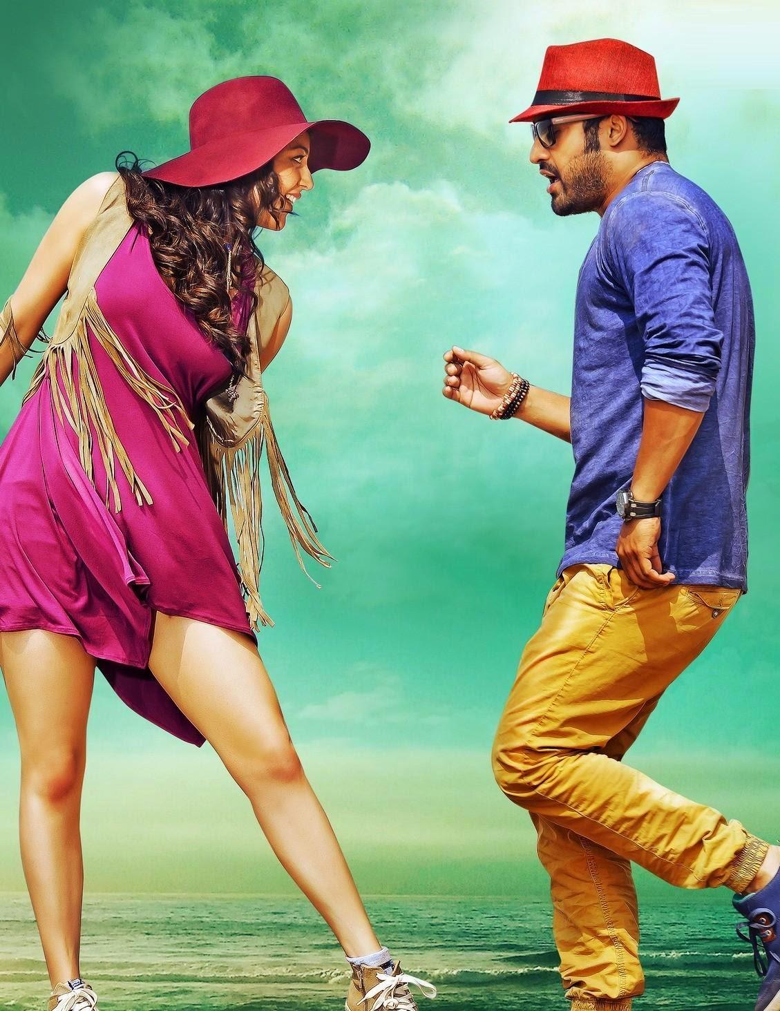 Kajal Aggarwal Temper movie hot stills