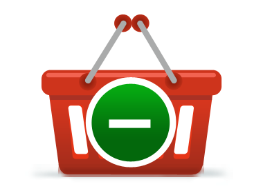 Shopping Vector illustrator icon design set.
