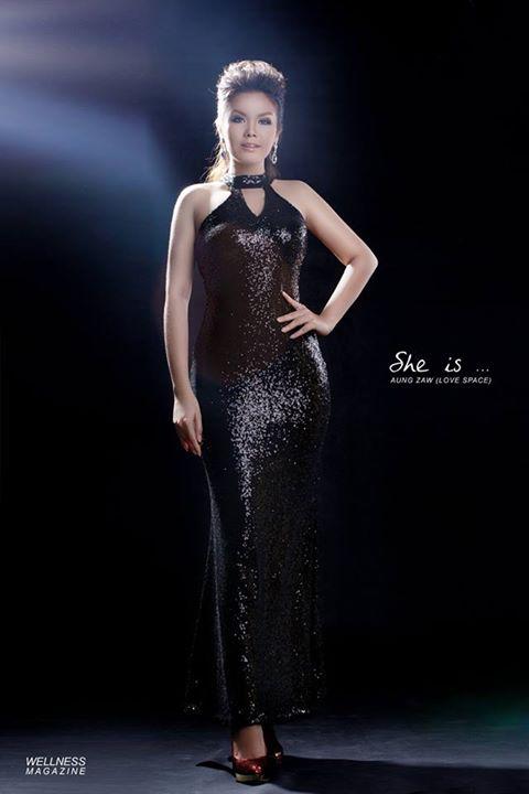 Ni Ni Khin Zaw - Popular Female Singer of the Year in Myanmar