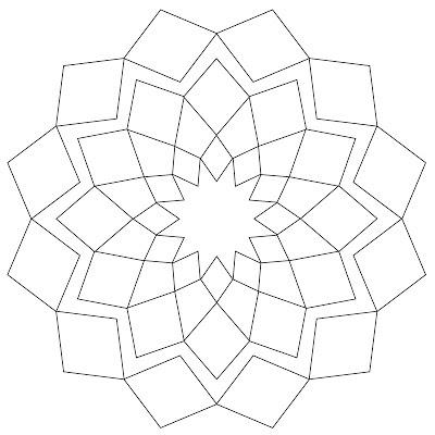 Simple Mandala Coloring Pages Printable