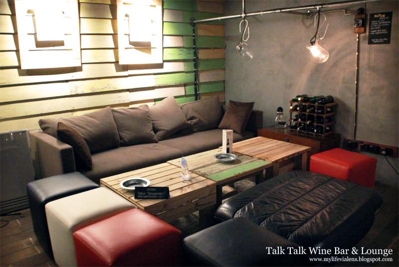 Talk Talk Wine Bar & Lounge at Pekaka Square