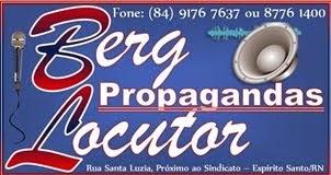 Berg Locutor Propagandas - Rua Santa Luzia, Espírito Santo/RN