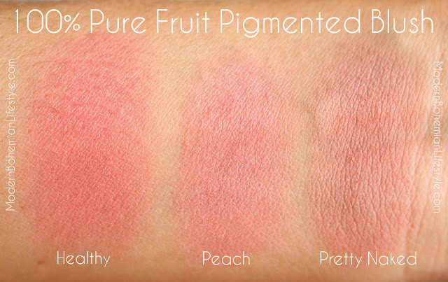 100% Pure Healthy Blush