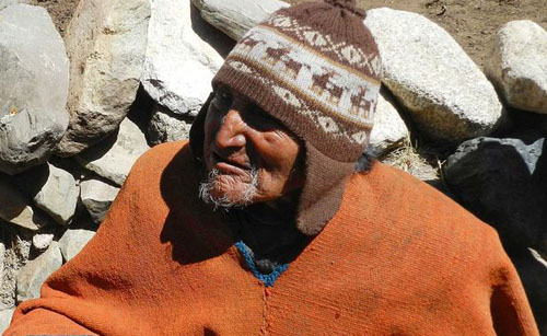 Foto Orang Tertua Dunia Carmelo Flores Laura