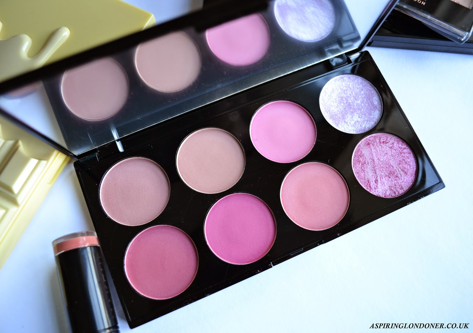 Makeup Revolution Ultra Blush and Contour Palette in Sugar and Spice - Aspiring Londoner