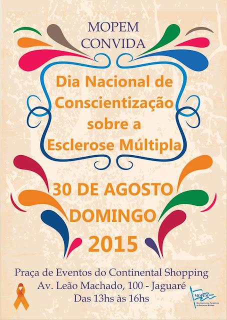Dia Nacional da Conscientização da Esclerose Múltipla - MOPEM