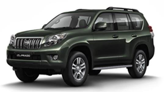 2014 Toyota Land Cruiser Prado india Technical specifications