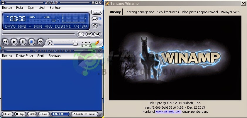 Download Winamp Terbaru Full Version