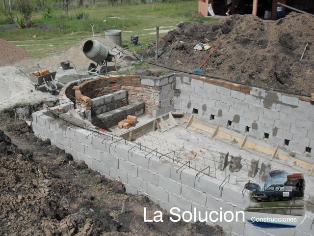 Lasolucion piscinas eleccion de los aridos y hierros para for Construccion de piscinas en uruguay