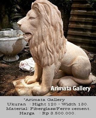 gambar patung singa