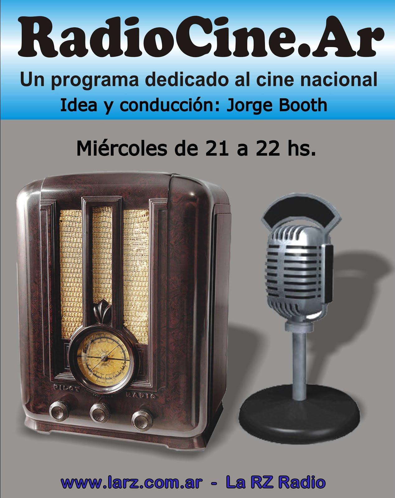 Un programa dedicado al cine nacional.