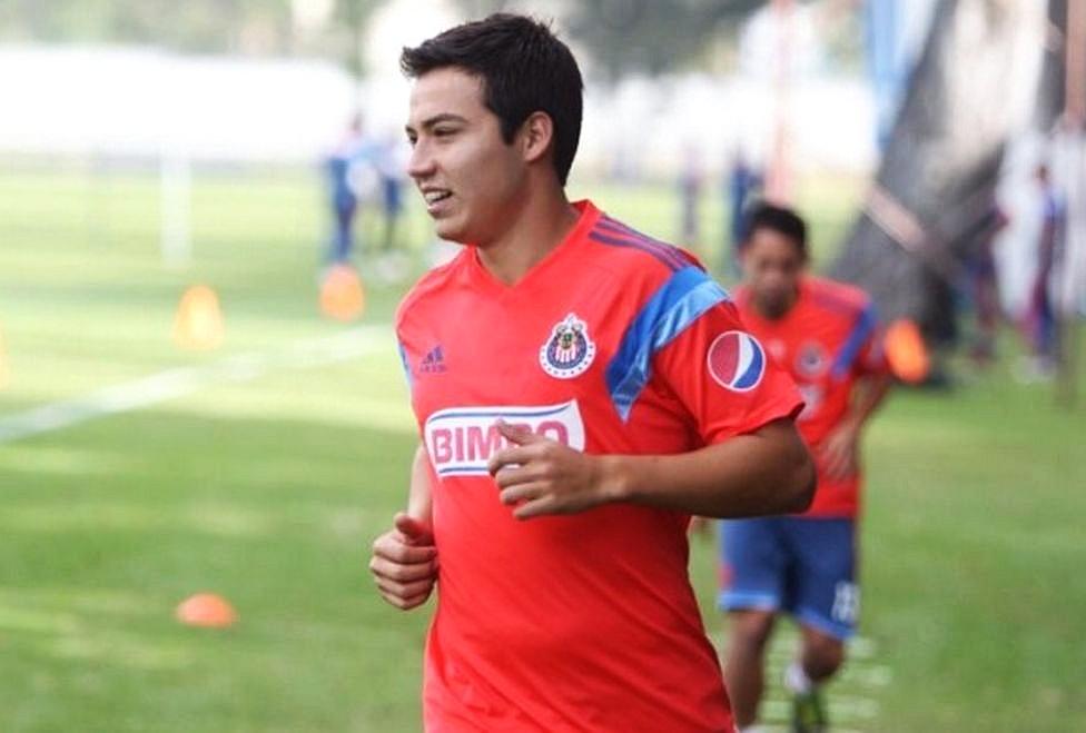 El Cubo entrena con las Chivas en Guadalajara.