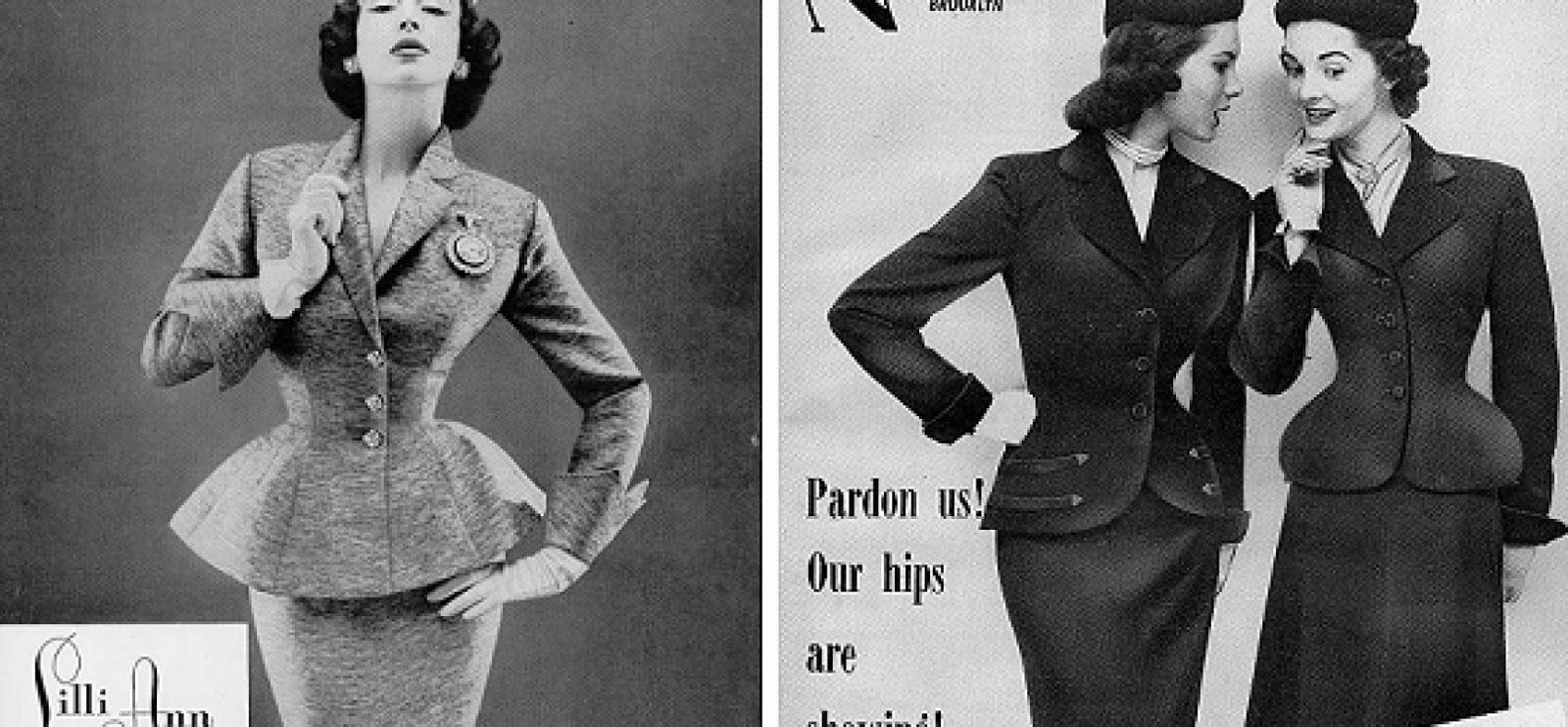 gioca le tue carte fashion history gli anni 40