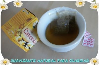 Chá de camomila, super simples!