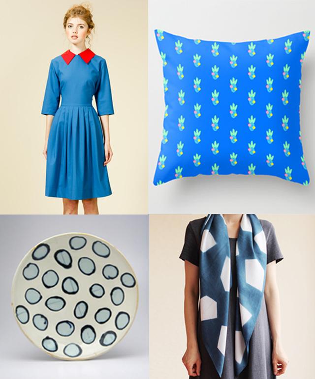 colour love - blue