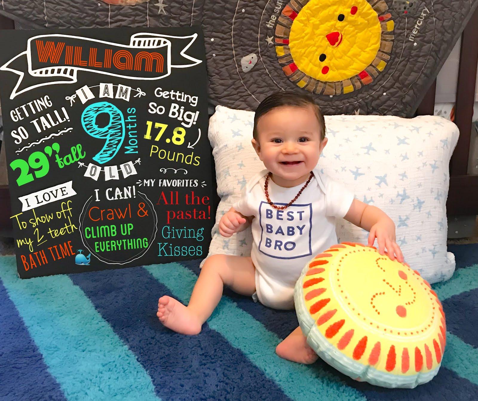 9 Months of William