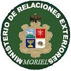 MINISTERIO DE RELACIONES EXTERIORES DE MORIEL