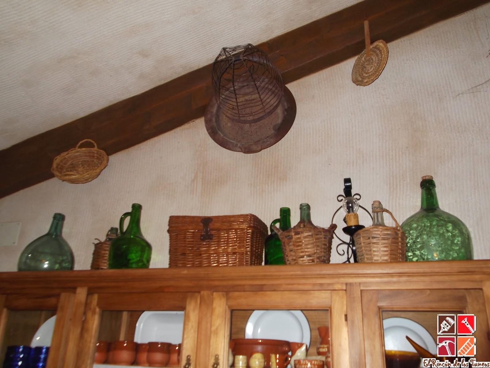 cestas de mimbre decorativas