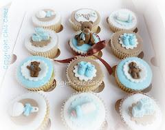 Cupcake battesimo Orsetti