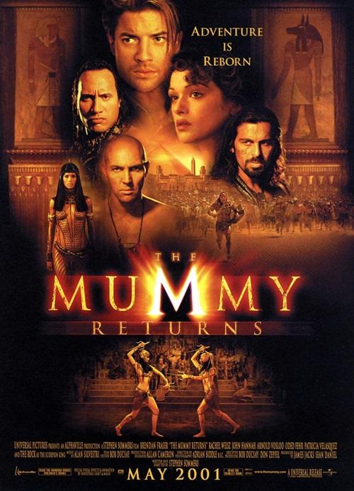 Mumya Geri Dönüyor (2001) 720p Film indir