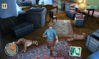 The Adventures of TinTin HD Nokia Game