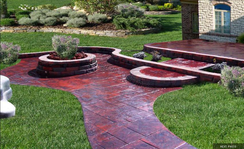 Pavimentos para jardin good amazing resistente pizarra - Pavimentos para jardin ...
