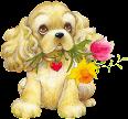 Desenhos de Cachorrinhos em Png e gifs