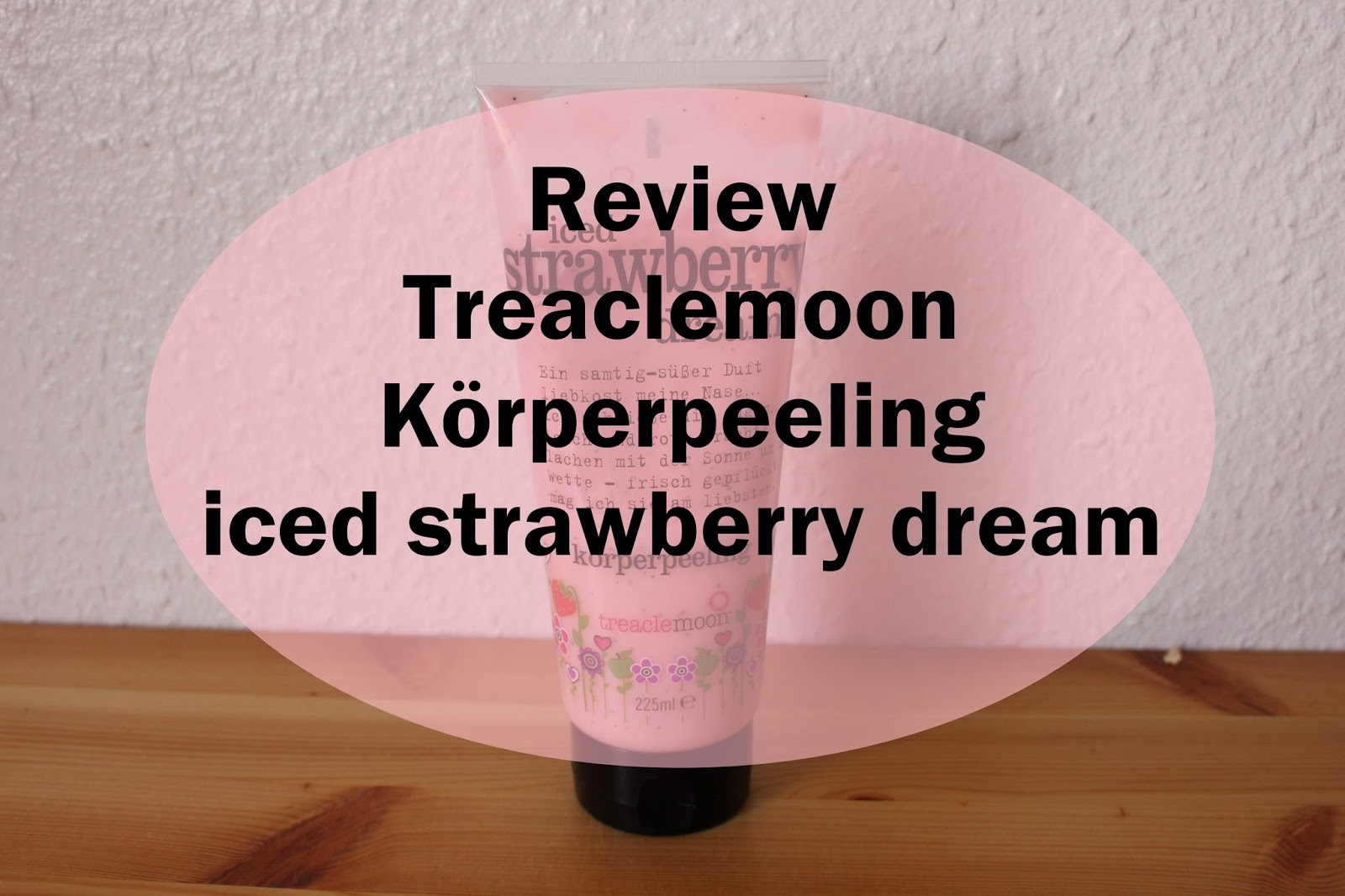 treaclemoon Körperpeeling iced strawberry dream