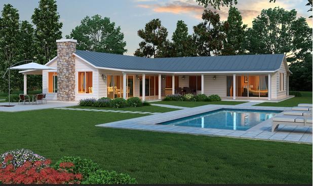 Fachadas casas modernas fotos de fachadas de casas for Modelos de casas de una planta modernas