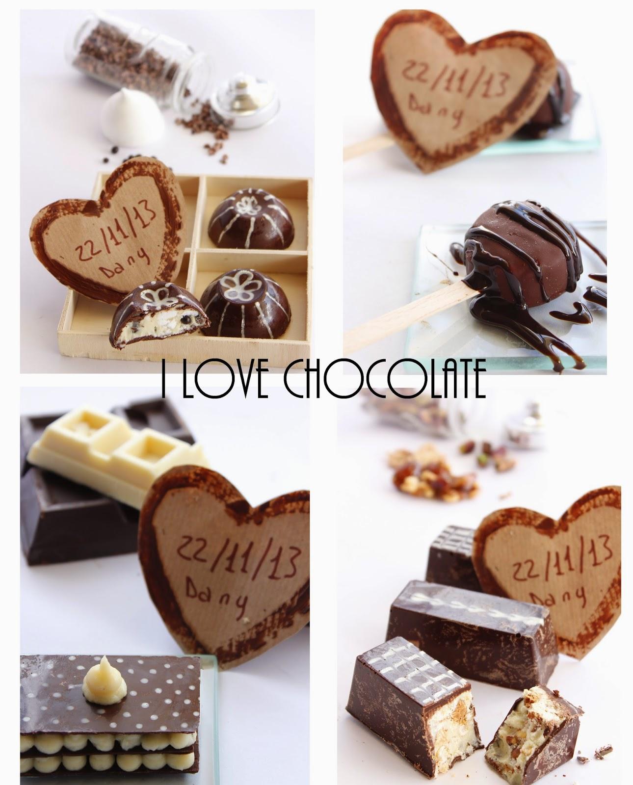 praline al cioccolato, barrette golose e......il mio kitchen aid