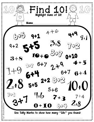 Worksheets Making Ten Worksheets free worksheets making ten printable addition to make 10 free