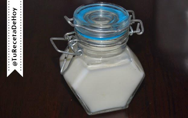 Suero de mantequilla o buttermilk casero paso a paso