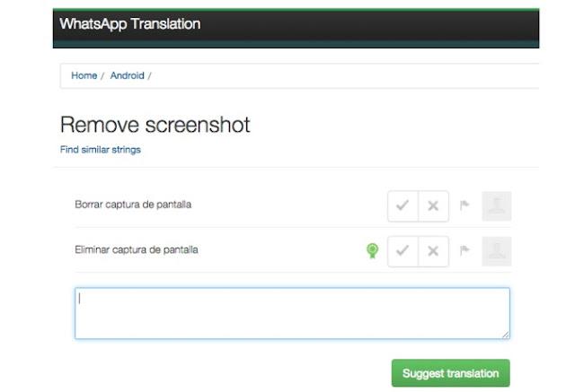 WhatsApp podría permitir capturas de conversaciones