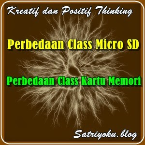 Perbedaan Class Micro Sd