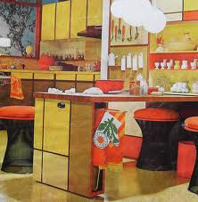 C Dianne Zweig Kitsch N Stuff 1960s Mod Pop Kitchen