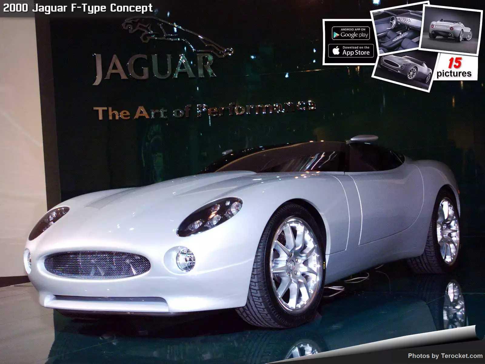 Hình ảnh xe ô tô Jaguar F-Type Concept 2000 & nội ngoại thất