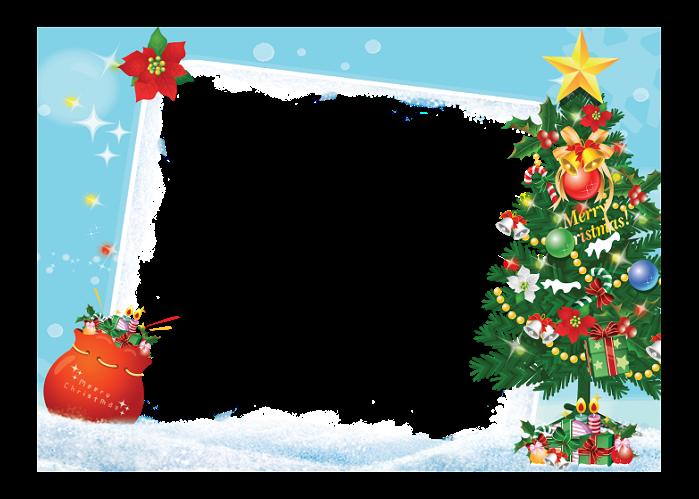 Marcos navidad png imagenes - Marcos transparentes ...