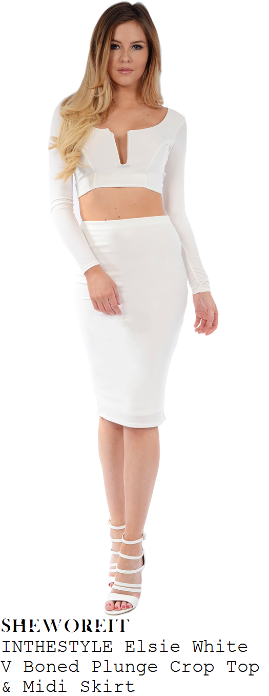 georgia-kousoulou-white-long-sleeve-wide-plunge-crop-top-and-pencil-midi-skirt-sheesh