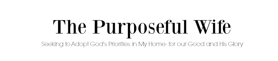 The Purposeful Wife