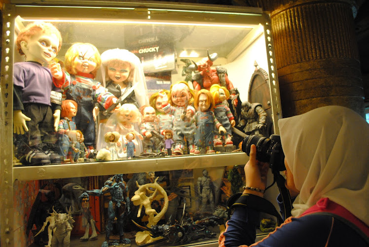 Toy Muzium- i like Chucky :D