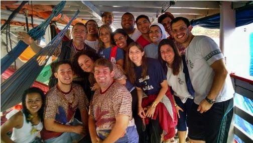 Jovens retornam das missões na Amazônia
