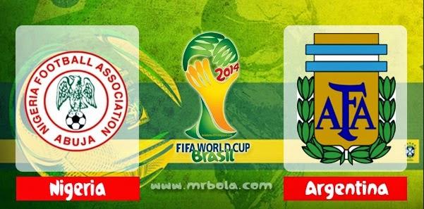 Prediksi Skor Nigeria vs Argentina 25 Juni Piala Dunia 2014