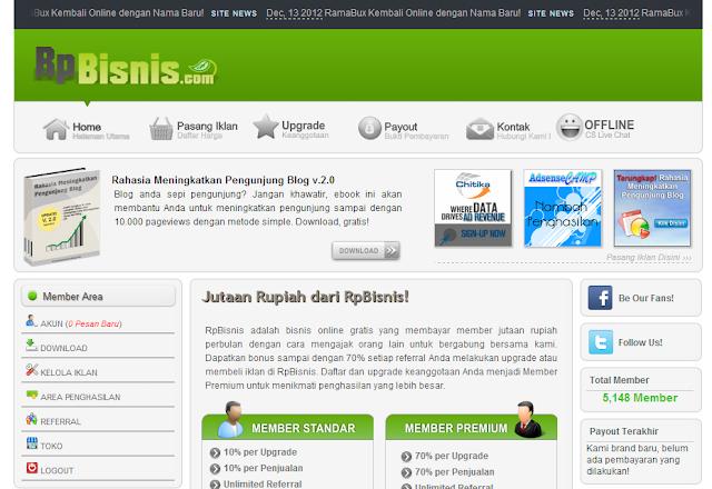RpBisnis.com Bisnis Online Gratis