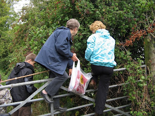 As I grew older more generations joined in the foraging