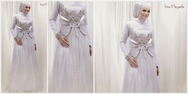 Model Gaun Muslim Pengantin 2015