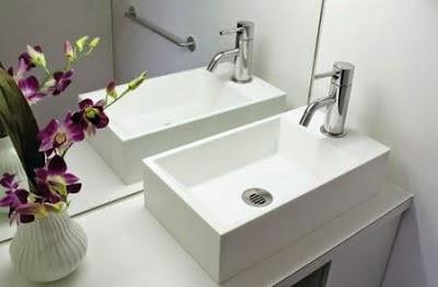 Desain model wastafel minimalis modern