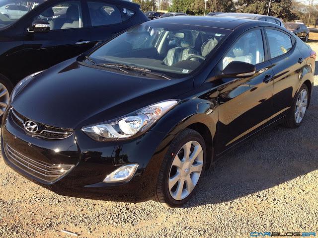 Hyundai Elantra GLS 2013 - preto