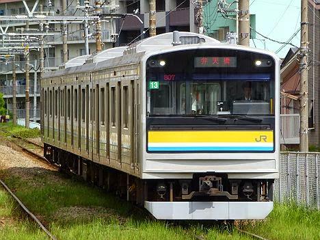 鶴見線 弁天橋行き 205系